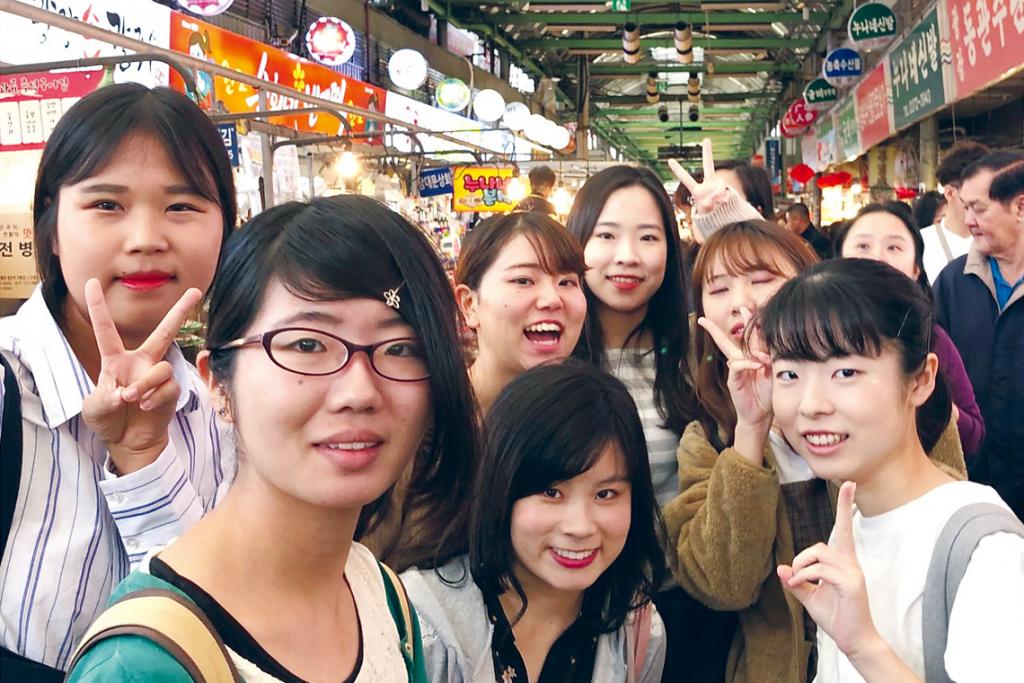 成均館大学薬学部学生との異文化交流・学生交流(令和元年9月、ソウル)